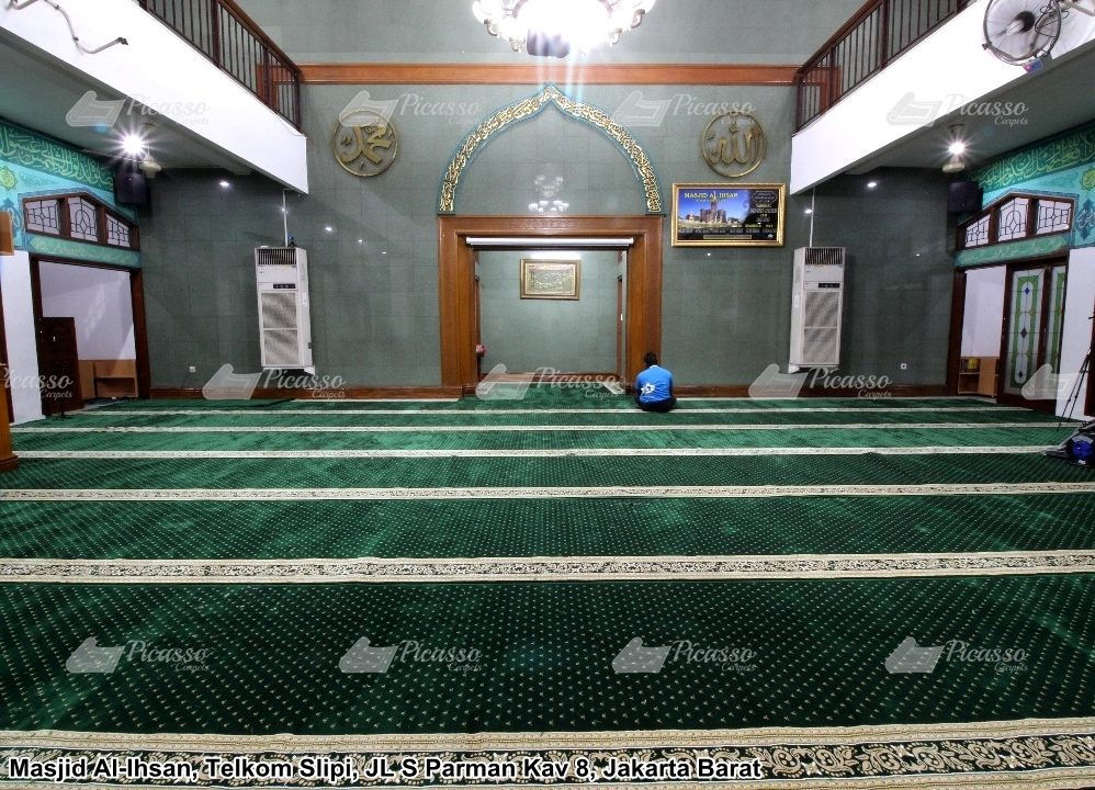 Karpet Masjid Al-Ihsan Telkom Slipi