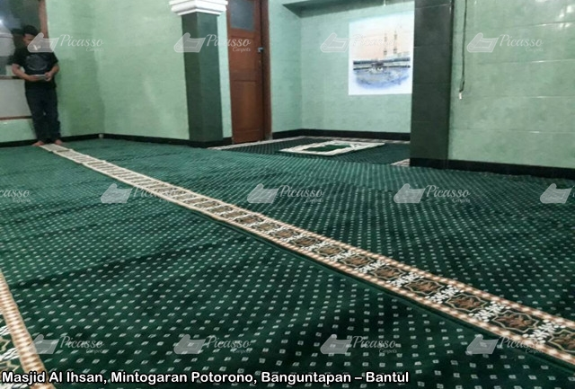 karpet masjid bantul jogja