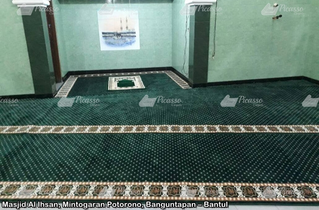 Karpet Masjid Al Ihsan Banguntapan – Bantul