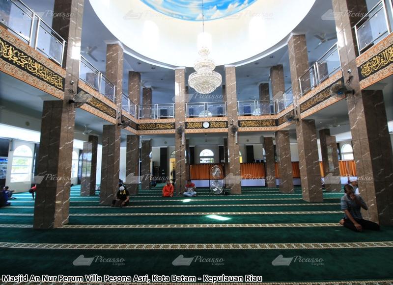 Karpet Masjid An Nur Perum Villa Pesona Asri – Batam