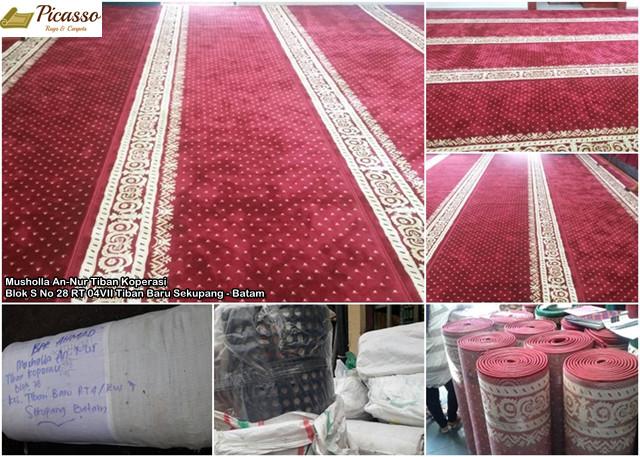 Karpet Masjid An-Nur Tiban Koperasi Blok S Sekupang – Batam