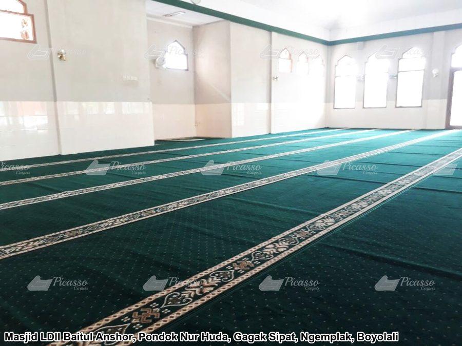 Karpet Masjid Baitul Anshor Ponpes Nur Huda Boyolali