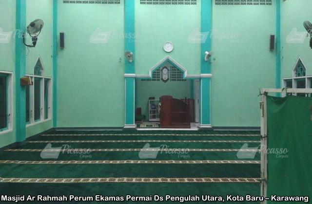 karpet masjid hijau ar-rahmah perum ekamas karawang (3)