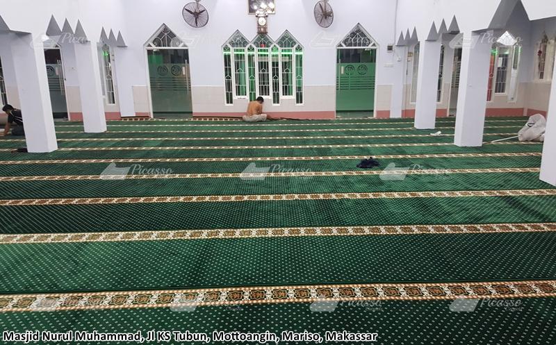 karpet masjid makassar