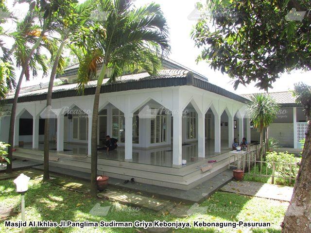 Karpet Masjid Al Ikhlas Kebonagung-Pasuruan