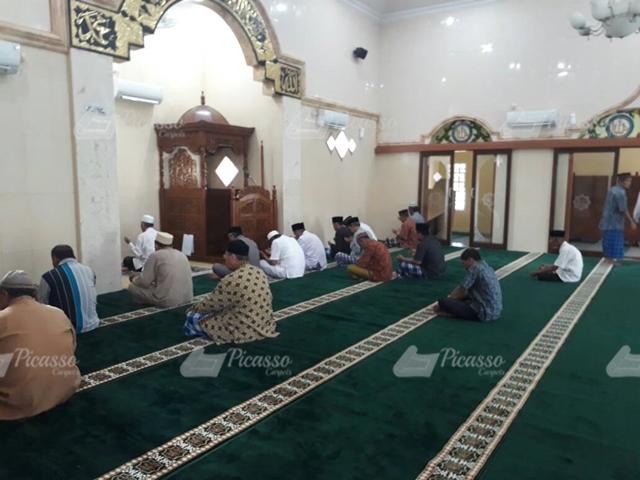 Karpet Masjid Al Muqorrobin Perum KBN Purworejo