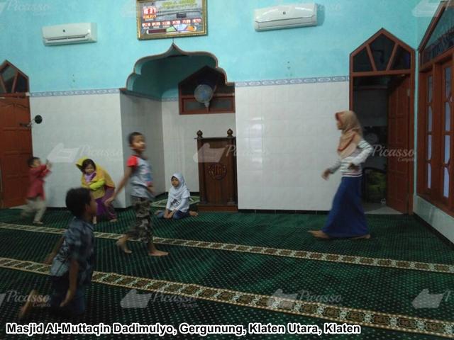 Karpet Masjid Hijau Klaten