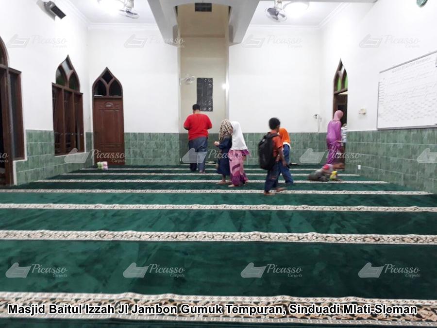 Karpet Masjid Baitul Izzah Sinduadi Mlati –  Sleman