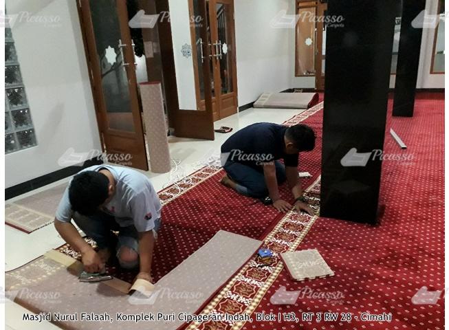 karpet masjid merah cimahi