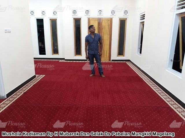 karpet masjid merah magelang