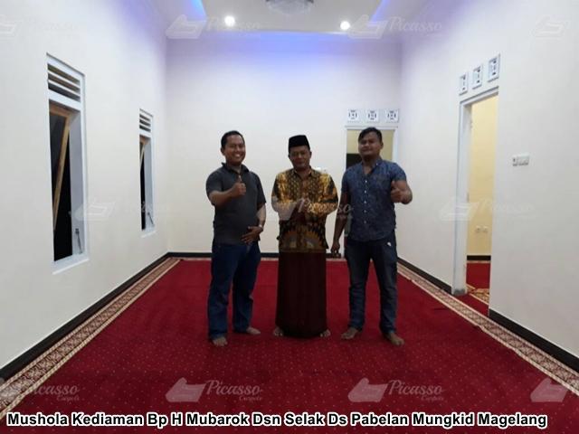 Mushola Kediaman Bp H Mubarok Dsn Selak Ds Pabelan Mungkid Magelang