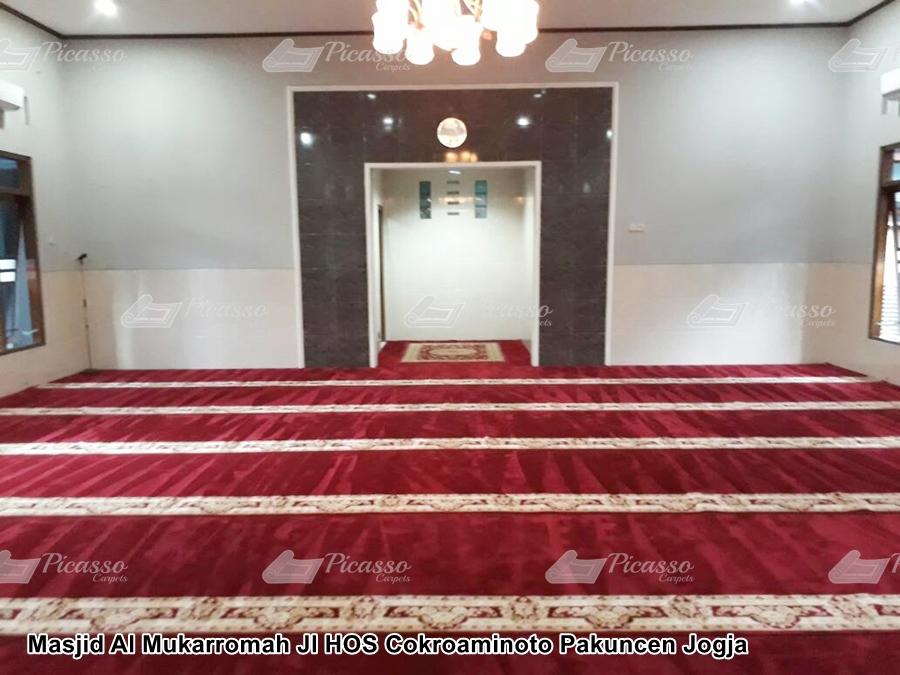 Masjid Al Mukarromah Jl HOS Cokroaminoto Pakuncen Jogja
