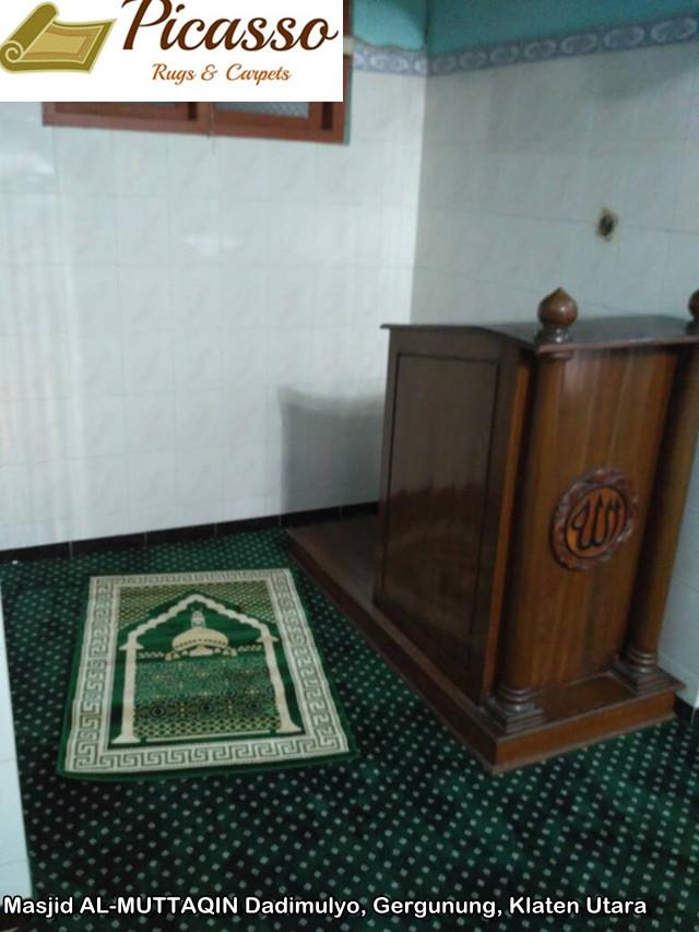 Masjid AL-MUTTAQIN Dadimulyo, Gergunung, Klaten Utara4
