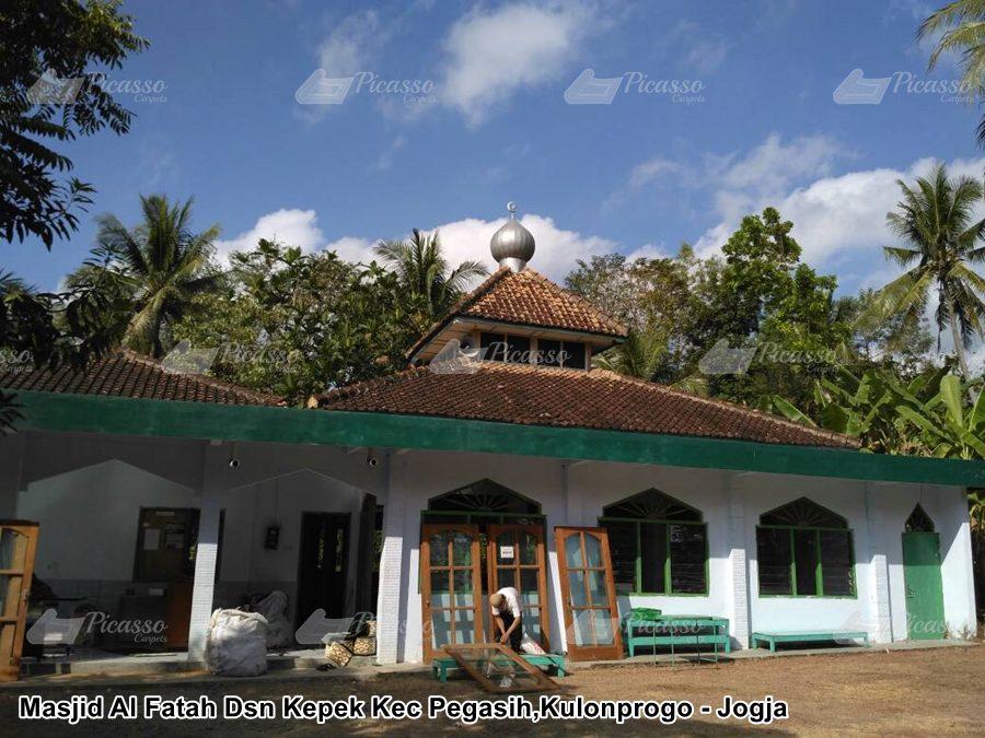 Masjid Al Fatah Dsn Kepek Kec Pengasih, Kulonprogo –  Jogja