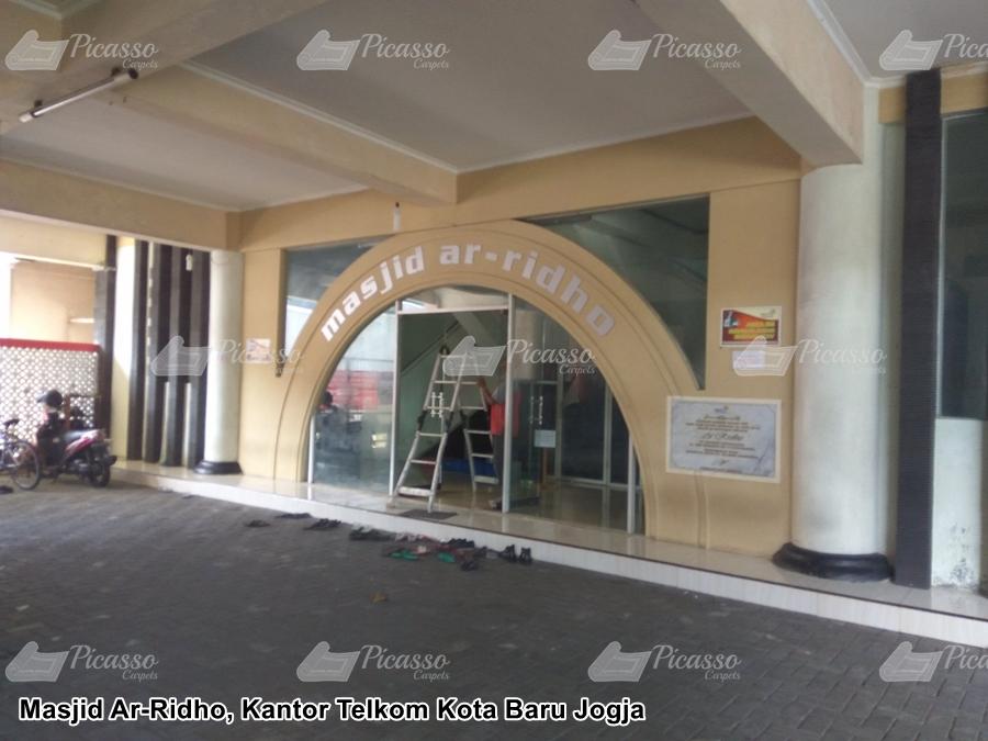 Masjid Ar-Ridho Kantor Telkom Kota Baru Jogja