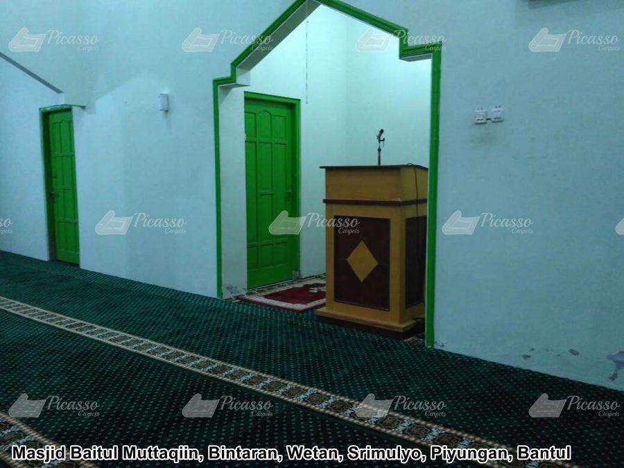 Masjid Baitul Muttaqiin Bintaran Wetan Srimulyo Piyungan Bantul