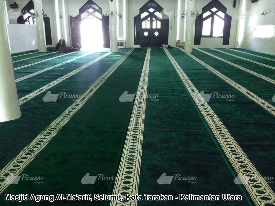 karpet masjid kota tarakan