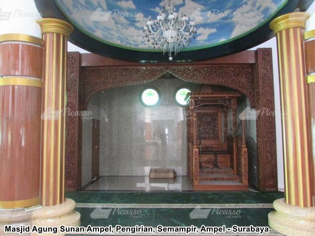 Karpet Masjid Agung Sunan Ampel Surabaya (7)