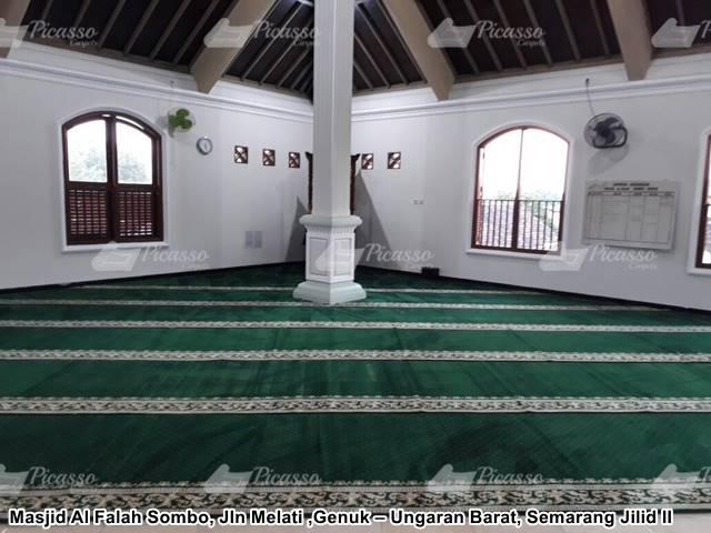 Karpet Masjid Al Falah Ungaran Semarang