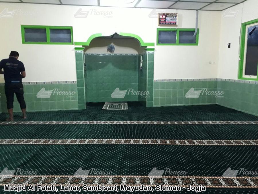 Karpet Masjid Al Fatah , Lahar, Sambisari Moyudan