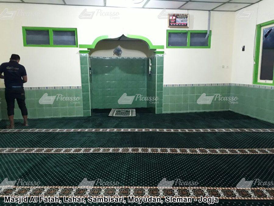 karpet masjid tebal sleman