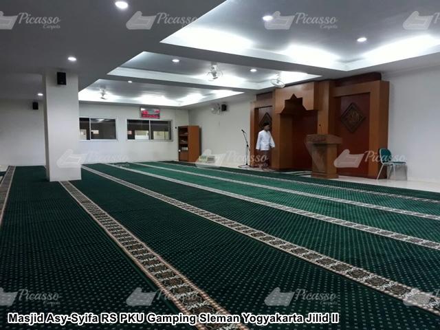 karpet masjid hijau sleman