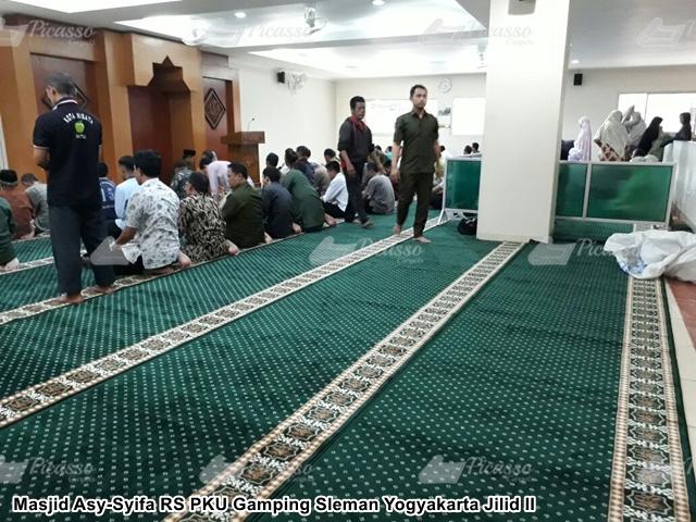 Karpet Masjid Asy-Syifa RS PKU Gamping Sleman Yogyakarta Jilid II