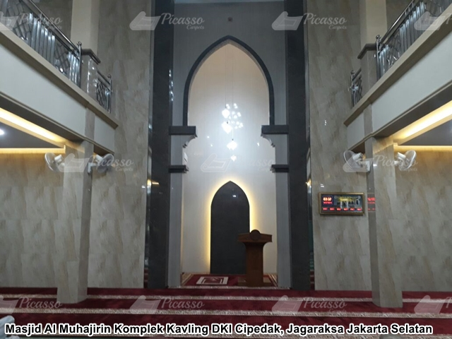 Karpet Masjid Al Muhajirin Cipedak Jagaraksa