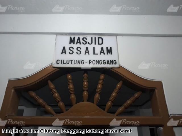 Karpet Masjid Assalam Cilutung Ponggang Subang Jawa Barat