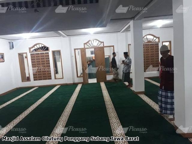 Karpet Masjid Hijau Subang
