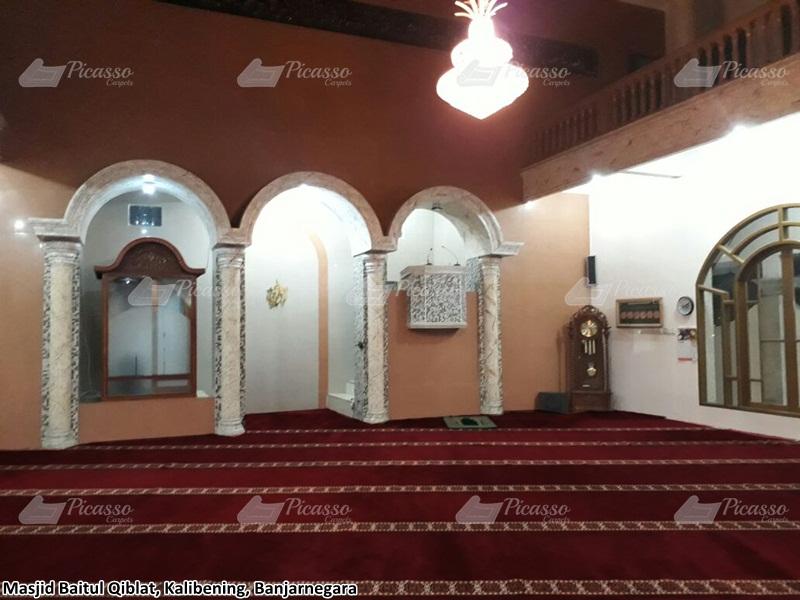 karpet masjid merah banjarnegara