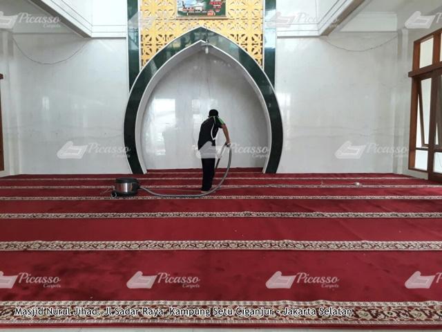 karpet masjid merah jagaraksa jakarta