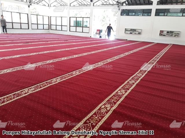 Karpet masjid merah sleman
