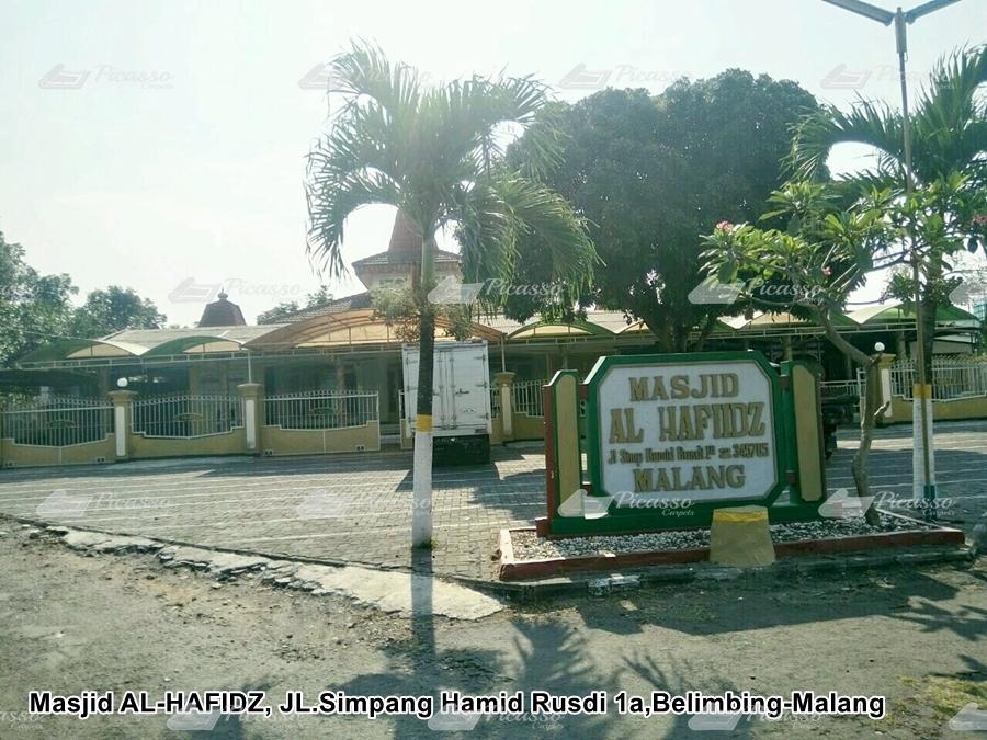 Karpet Masjid AL-HAFIDZ Jl. Simpang Hamid Rusdi  Malang