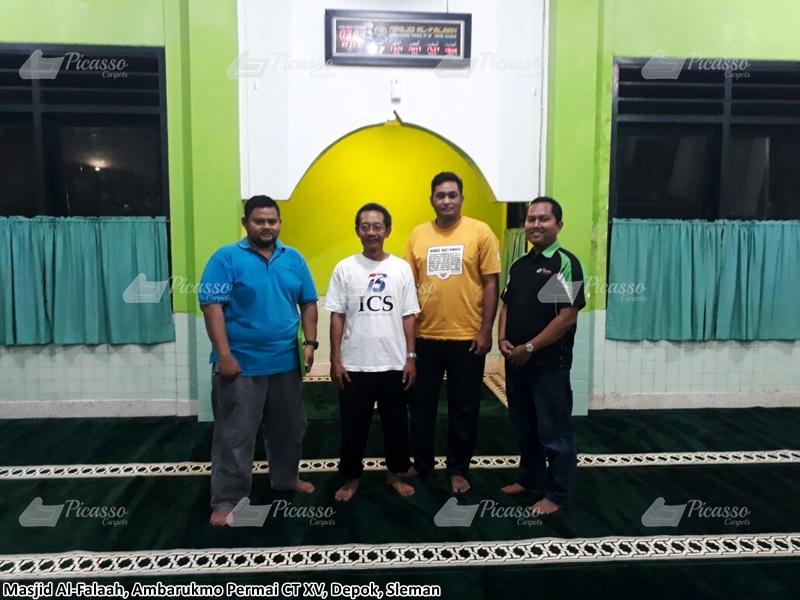 Karpet Masjid AL FALAAH, Ambarukmo Permai Caturtunggal Depok Sleman