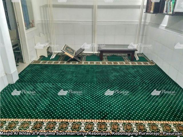 Karpet Masjid Al Ikhlas Purworejo – Pasuruan JILID II