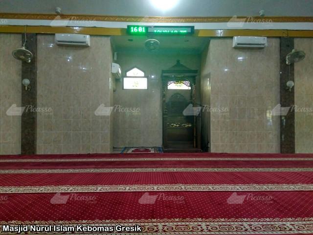 jual karpet masjid meteran Gresik