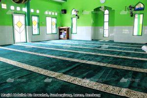 Karpet masjid hijau rembang