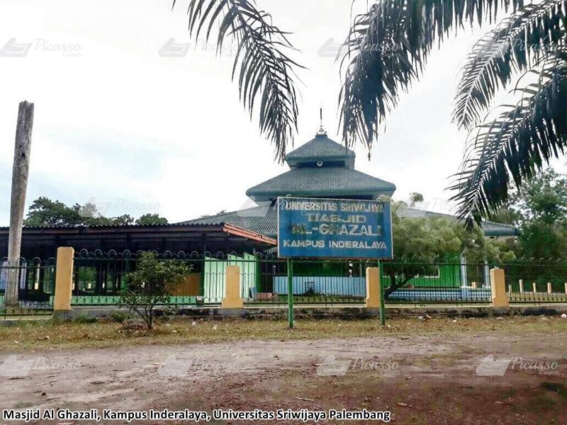 Masjid Al Ghazali Kampus Inderlaya, Universitas Sriwijaya Palembang