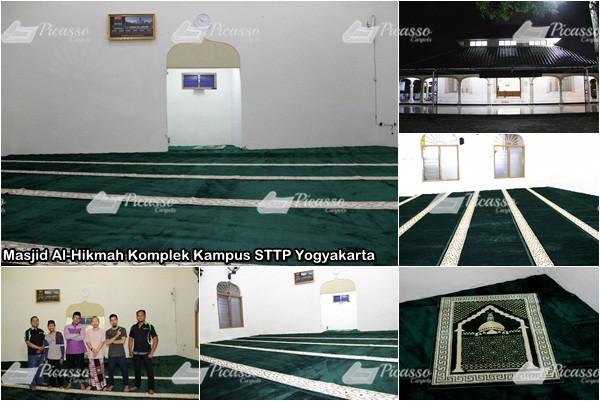 Karpet Masjid Al-Hikmah Komplek Kampus STTP Yogyakarta