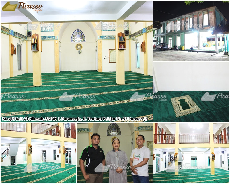 Masjid Al-Hikmah SMAN 1 Purworejo