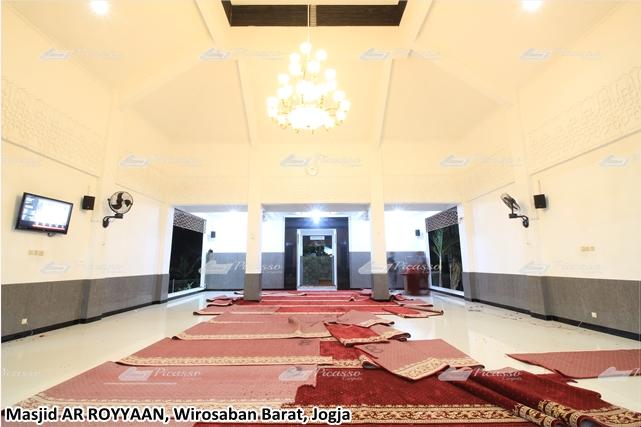 Karpet Masjid Meteran Jogja