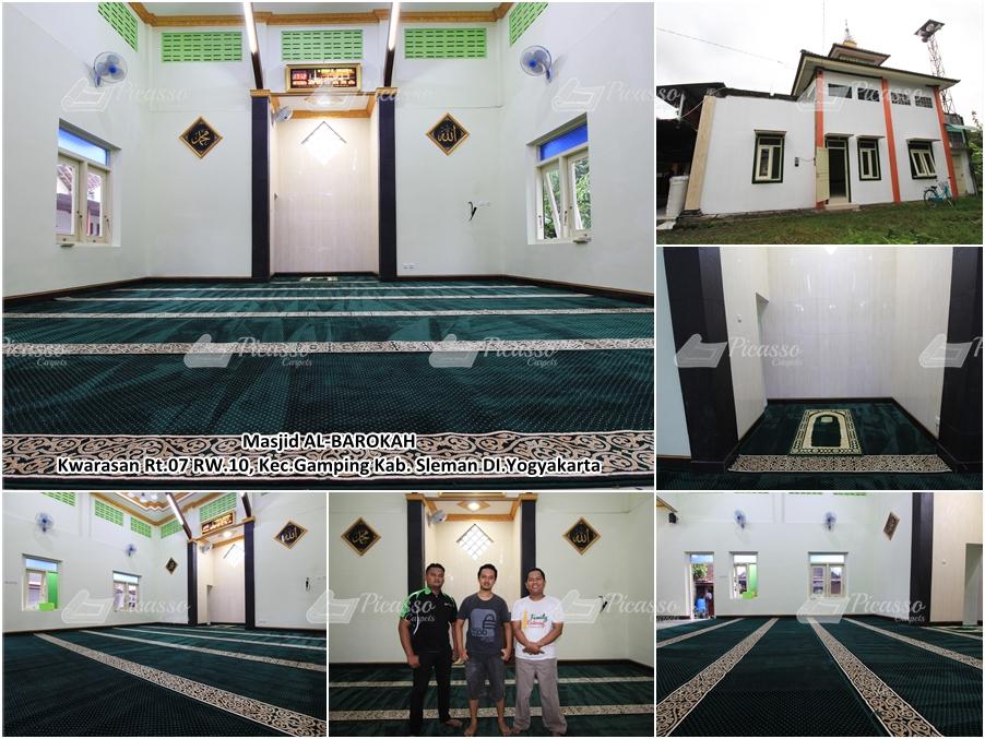 Karpet Masjid Al Barokah, Gamping Sleman – Jogja