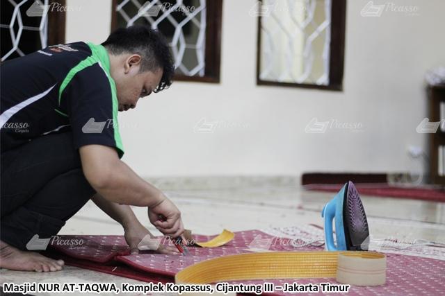 jual karpet masjid gulungan