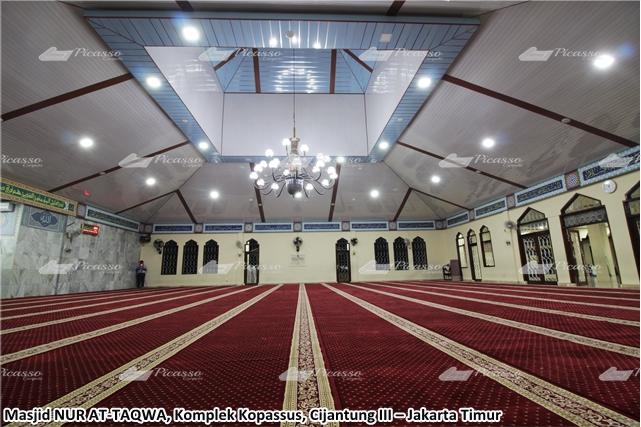 Karpet Masjid NUR AT-TAQWA, Komplek Kopassus–Jakarta Timur