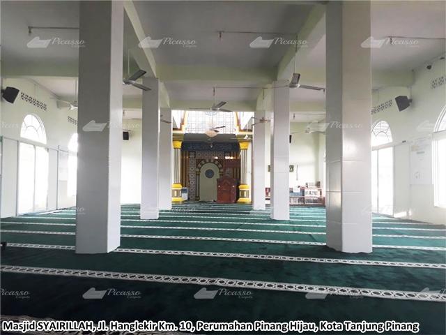 KARPET MASJID SYAIRILLAH Perum Pinang Hijau Kota Tanjung Pinang