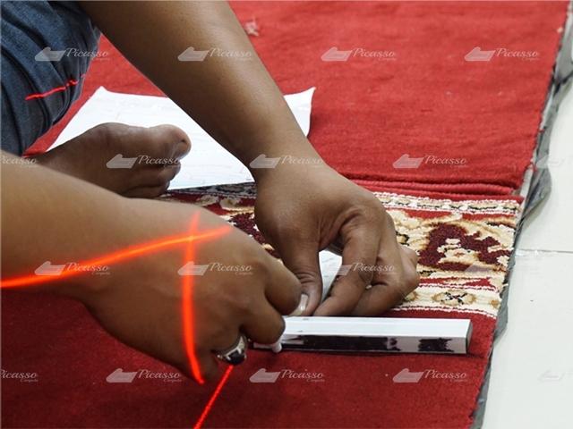 layout karpet masjid