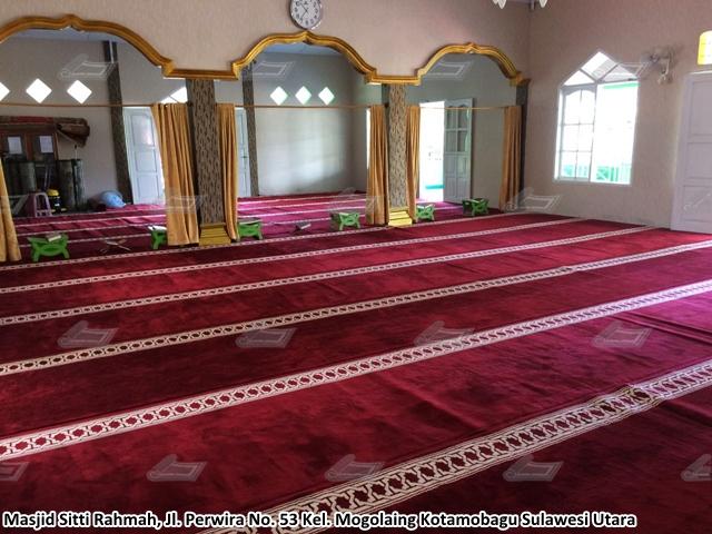 karpet masjid kotamobagu