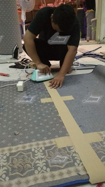 karpet masjid layout