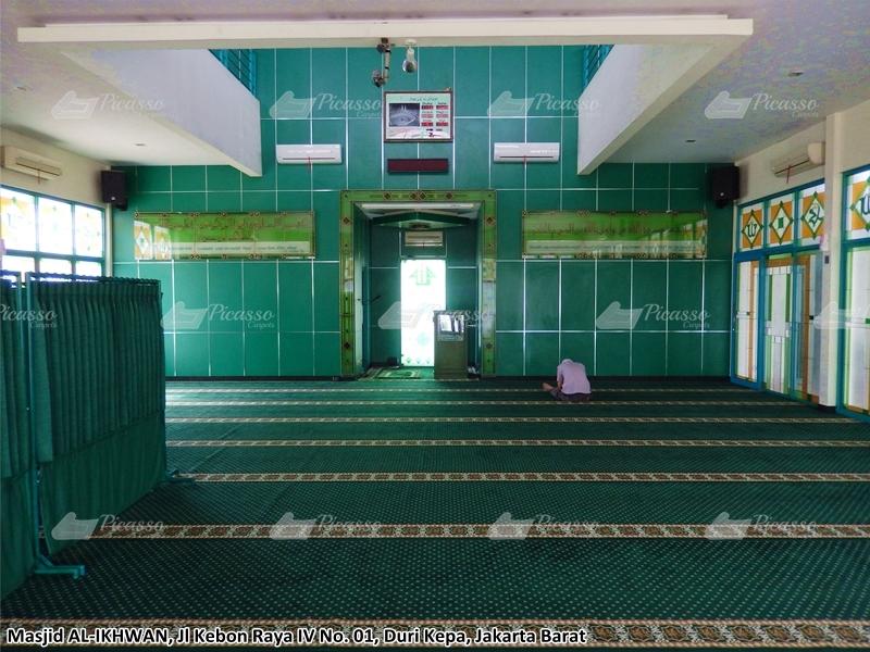 Karpet Masjid Hijau, Duri Kepa, Jaksel